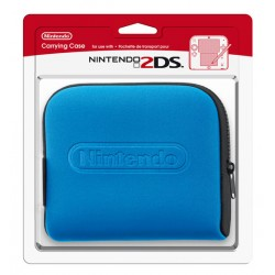 FUNDA 2DS AZUL ORIGINAL NINTENDO
