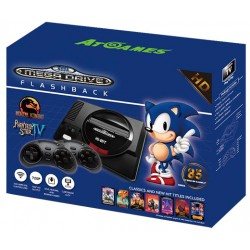 CONSOLA RETRO SEGA MEGA DRIVE WIRELESS HD (85 JUEGOS)