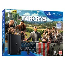 PLAYSTATION 4 SLIM 1Tb CUH-2116B + FAR CRY 5