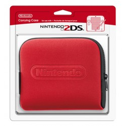 FUNDA 2DS ROJA ORIGINAL NINTENDO