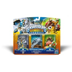 FIGURA SKYLANDERS GIANTS CHOP CHOP + DRAGONFIRE CANNON + SHROOMBOOM (BATTLE PACK)