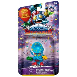 FIGURA SKYLANDERS SUPERCHARGERS BIRTHDAY BASH BIG BUBBLE POP FIZZ