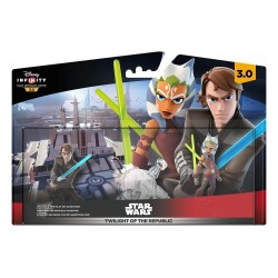 DISNEY INFINITY 3.0 STAR WARS PLAY SET TWILIGHT OF THE REPUBLIC EP I-III