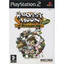 HARVEST MOON A WONDERFUL LIFE
