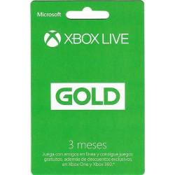 XBOX LIVE GOLD 90 DIAS (3...