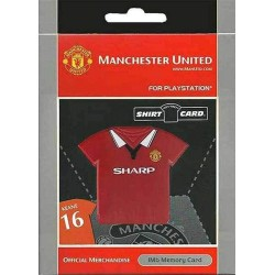 MEMORY CARD PSX 1MB MANCHESTER KEANE