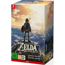 THE LEGEND OF ZELDA : BREATH OF THE WILD LIMITED EDITION