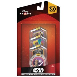 DISNEY INFINITY 3.0 STAR WARS POWER DISK PACK TWILIGHT OF THE REPUBLIC