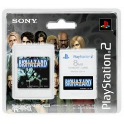 MEMORY CARD 8MB BIOHAZARD...