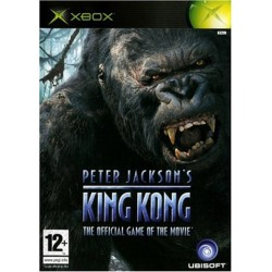PETER JACKSONS KING KONG THE OFFICIAL GAME OF THE MOVIE