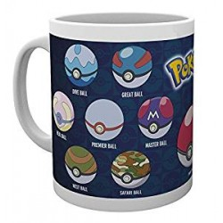 TAZA POKEMON BALL VARIAS