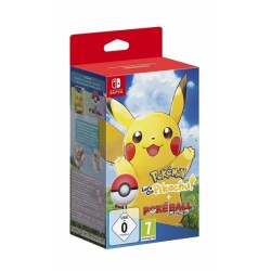 POKEMON LETS GO PIKACHU + POKE BALL PLUS