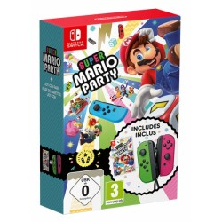 SUPER MARIO PARTY + JOYCON...