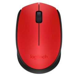 RATON LOGITECH WIRELESS M171 ROJO