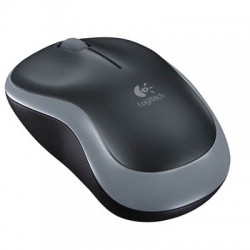 RATON LOGITECH M185 GRIS WIRELESS