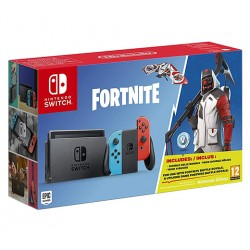 CONSOLA NINTEDO SWITCH (JOYCON ROJO/AZUL) + FORTNITE