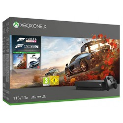 XBOX ONE X + FORZA HORIZON...