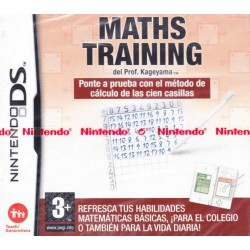 MATHS TRAINING DEL PROF....