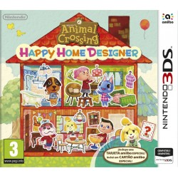 ANIMAL CROSSING : HAPPY HOME DESIGNER + TARJETA AMIIBO