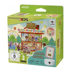 ANIMAL CROSSING : HAPPY HOME DESIGNER + TARJETA AMIIBO + LECTOR NFC