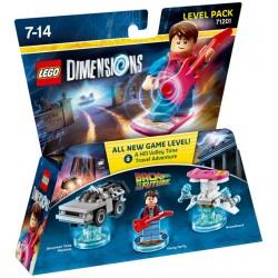 LEGO DIMENSIONS LEVEL PACK : REGRESO AL FUTURO 71201