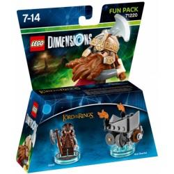 LEGO DIMENSIONS FUN PACK : SDLA GIMLI 71220