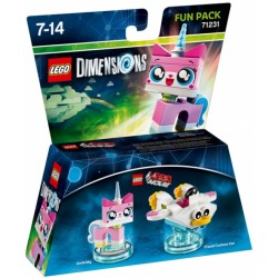 LEGO DIMENSIONS FUN PACK : UNIKITTY 71231