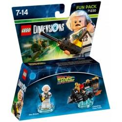 LEGO DIMENSIONS FUN PACK : REGRESO AL FUTURO DOC 71230
