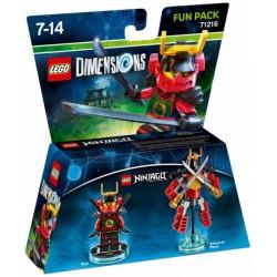 LEGO DIMENSIONS FUN PACK : NINJAGO NYA 71216