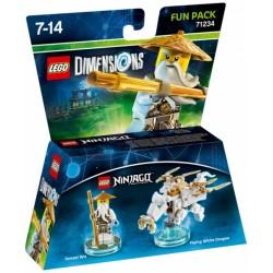 LEGO DIMENSIONS FUN PACK : NINJAGO SENSEI WU 71234
