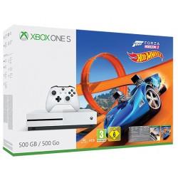 XBOX ONE S 500Gb + FORZA HORIZON 3 + HOT WHEELS + 1 MES GAME PASS