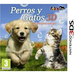 PERROS Y GATOS 3D Mis mejores amigos