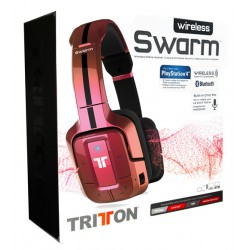 AURICULAR TRITTON SWARM - ROJO METALIZADO (PS4 - BLUETOOTH)